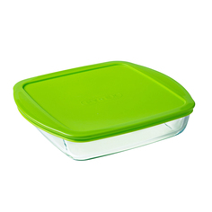 Форма для запекания Pyrex Cook&Store Glass Квадратная 1 л (211P000/5046/6146)