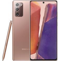 Смартфон Samsung Galaxy Note20 256 ГБ бронзовый