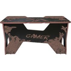 Компьютерный стол Generic Comfort Gamer2/VS/NC чёрно-коричневый