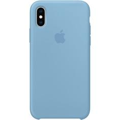 Чехол для смартфона Apple iPhone XS Silicone Case, синие сумерки