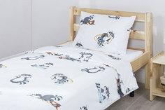 Комплект постельного белья Teens Racoon Mi Casa