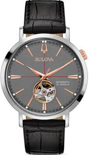 Японские наручные мужские часы Bulova 98A187. Коллекция Automatic