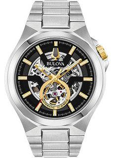Японские наручные мужские часы Bulova 98A224. Коллекция Maquina