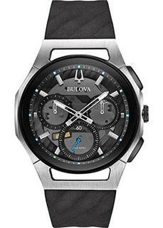 Японские наручные мужские часы Bulova 98A161. Коллекция CURV