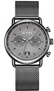 fashion наручные мужские часы EYKI E1160L-CZ4HHZ. Коллекция Metallics