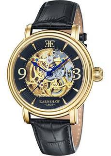мужские часы Earnshaw ES-8011-03. Коллекция Longcase