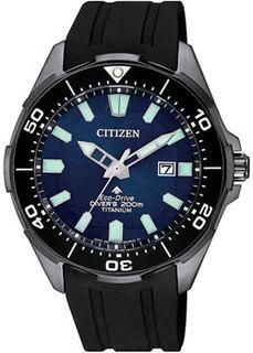 Японские наручные мужские часы Citizen BN0205-10L. Коллекция Eco-Drive