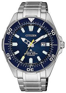 Японские наручные мужские часы Citizen BN0201-88L. Коллекция Eco-Drive