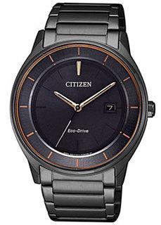 Японские наручные мужские часы Citizen BM7407-81H. Коллекция Eco-Drive