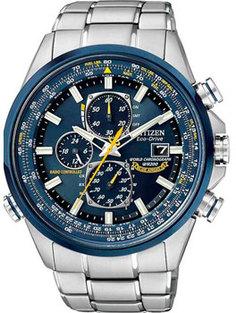 Японские наручные мужские часы Citizen AT8020-54L. Коллекция Radio-Controlled