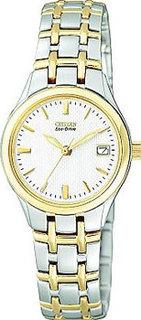 Японские наручные женские часы Citizen EW1264-50A. Коллекция Eco-Drive