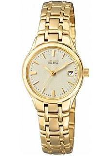 Японские наручные женские часы Citizen EW1262-55P. Коллекция Eco-Drive