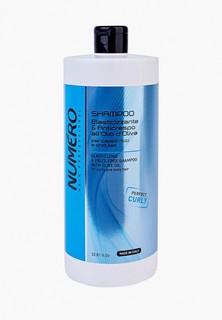 Шампунь Brelil Professional Numero с оливковым маслом для вьющихся и волнистых волос, 1000 мл