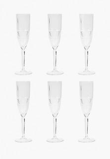 Набор бокалов RCR для шампанского, Brillante, 190 мл (6 шт)
