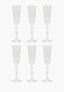 Набор бокалов RCR для шампанского, Adagio, 180 мл (6 шт)