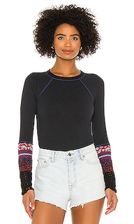 Футболка in the mix cuff - Free People