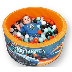 """Сухой бассейн Hotenok Hot Wheels """"Гонки по крышам"""" с шариками"""