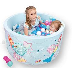 """Сухой бассейн Hotenok Barbie """"Подводная сказка"""" с шариками"""