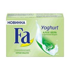 """Мыло туалетное FA Йогурт """"Алоэ Вера"""", 90 г"""