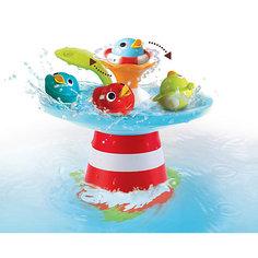 """Игрушка для купания Yookidoo """"Фонтан. Утиные гонки"""""""
