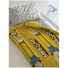 Комплект постельного белья 1,5 сп Непоседа Миньоны 2 Black and yellow