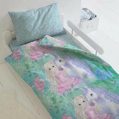 Комплект постельного белья 1,5 сп Непоседа Сказочный лес, наволочка 70х70 см