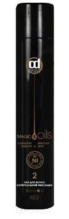 Constant Delight, Лак для волос суперсильной фиксации №2 без запаха 5 Magic Oils, 400 мл