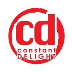 Constant Delight, Пеньюар черный с логотипом Elite Supreme