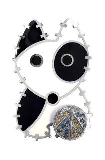 Серебряные броши Броши Kabarovsky 5-057-0101