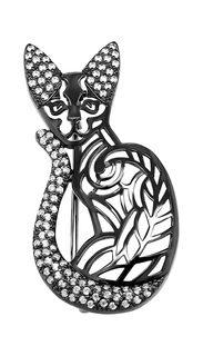 Серебряные броши Броши Kabarovsky 5-037-7989