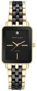 Женские часы в коллекции Diamond Ceramics Женские часы Anne Klein 3668BKGB