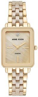 Женские часы в коллекции Diamond Ceramics Женские часы Anne Klein 3668TNGB