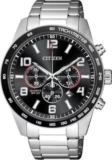 Японские мужские часы в коллекции Basic Мужские часы Citizen AN8180-55E