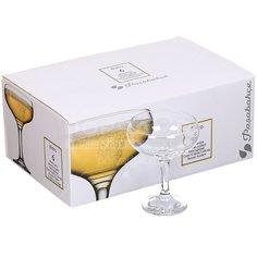 Бокал для шампанского Pasabahce Bistro 44136, 6 шт, 270 мл