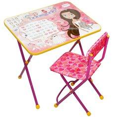 Набор детской мебели Nika Принцесса КП2/17 (стол, стул)