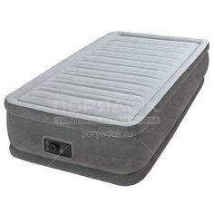 Кровать надувная Intex 64412NP с насосом, 191х99х46 см