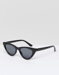 """Солнцезащитные очки """"кошачий глаз"""" ALDO Serasio-Черный"""
