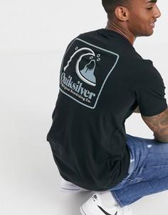 Черная футболкаQuiksilver-Черный