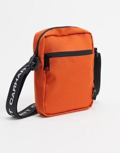 Терракотово-оранжевая сумка на плечо Carhartt WIP Brandon-Оранжевый