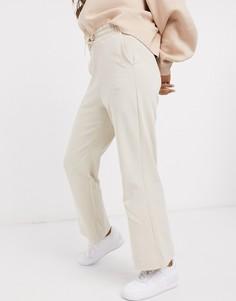 Бежевые широкие джоггеры Nike Premium-Бежевый