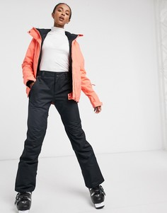 Лыжная куртка кораллового цветаRoxy JetSki-Оранжевый