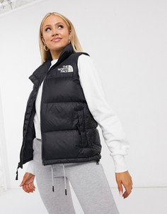 Черный жилет The North Face 1996 Retro Nuptse