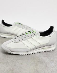 Белые кроссовки adidas Originals SL 72-Белый