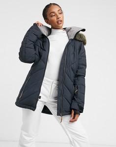 Черная зимняя куртка Roxy-Черный