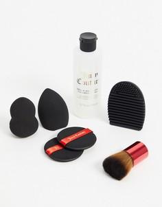 Набор из спонжей и средства для их очистки Juicy Couture-Черный