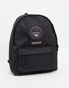 Черный рюкзак Napapijri Voyage-Черный цвет