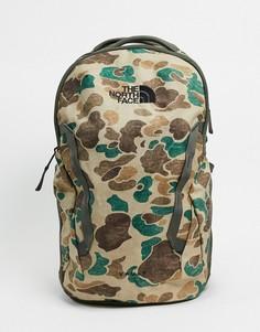 Камуфляжный рюкзак The North Face-Зеленый