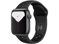 Умные часы APPLE Watch Nike Series 5 40mm Space Grey Aluminium with Anthracite-Black Nike Sport Band MX3T2RU/A Выгодный набор + серт. 200Р!!!