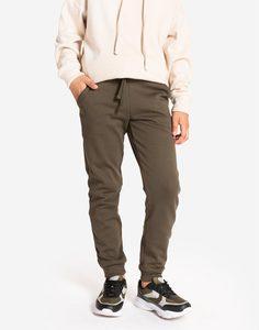 Спортивные брюки-джоггеры хаки для мальчика Gloria Jeans