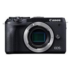 "Цифровые фотоаппараты Фотоаппарат Canon EOS M6 Mark II черный 32.5Mpix 3"" 1080p WiFi LP-E17 (без объектива)"